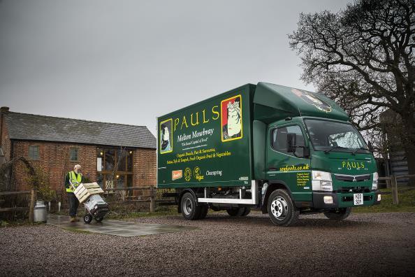 Pauls Eco Hybrid Truck