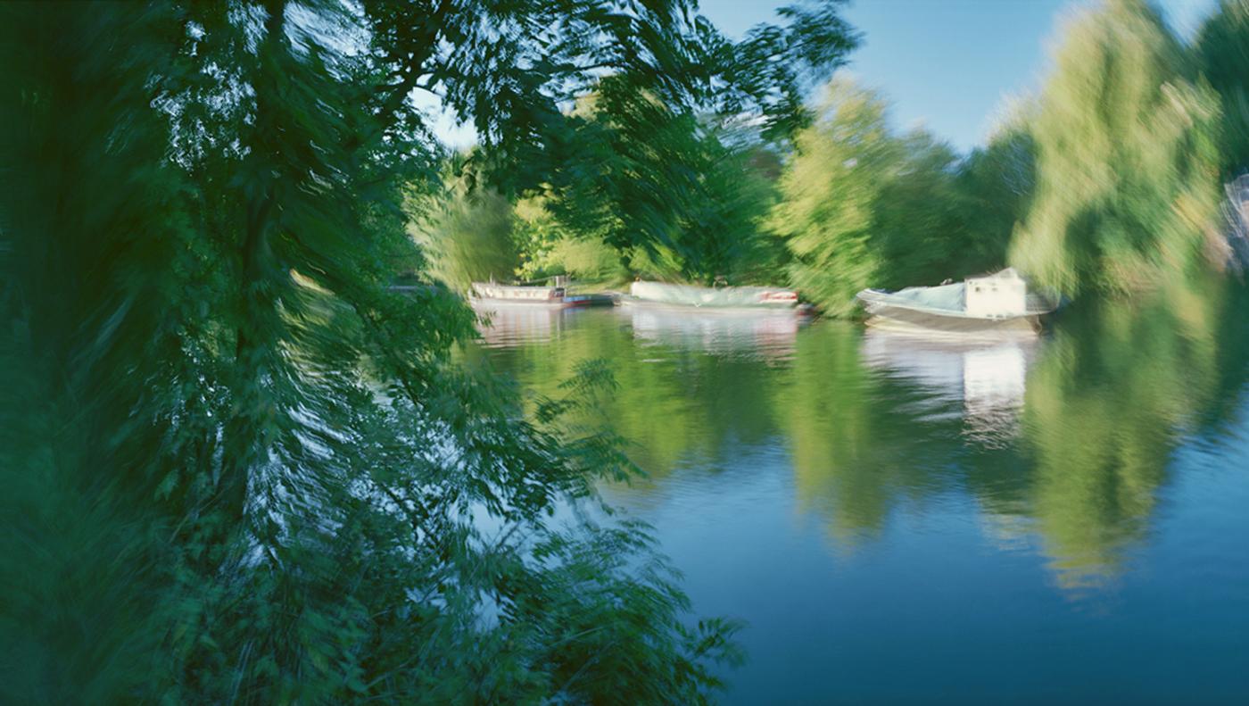 River boats at Runnymede