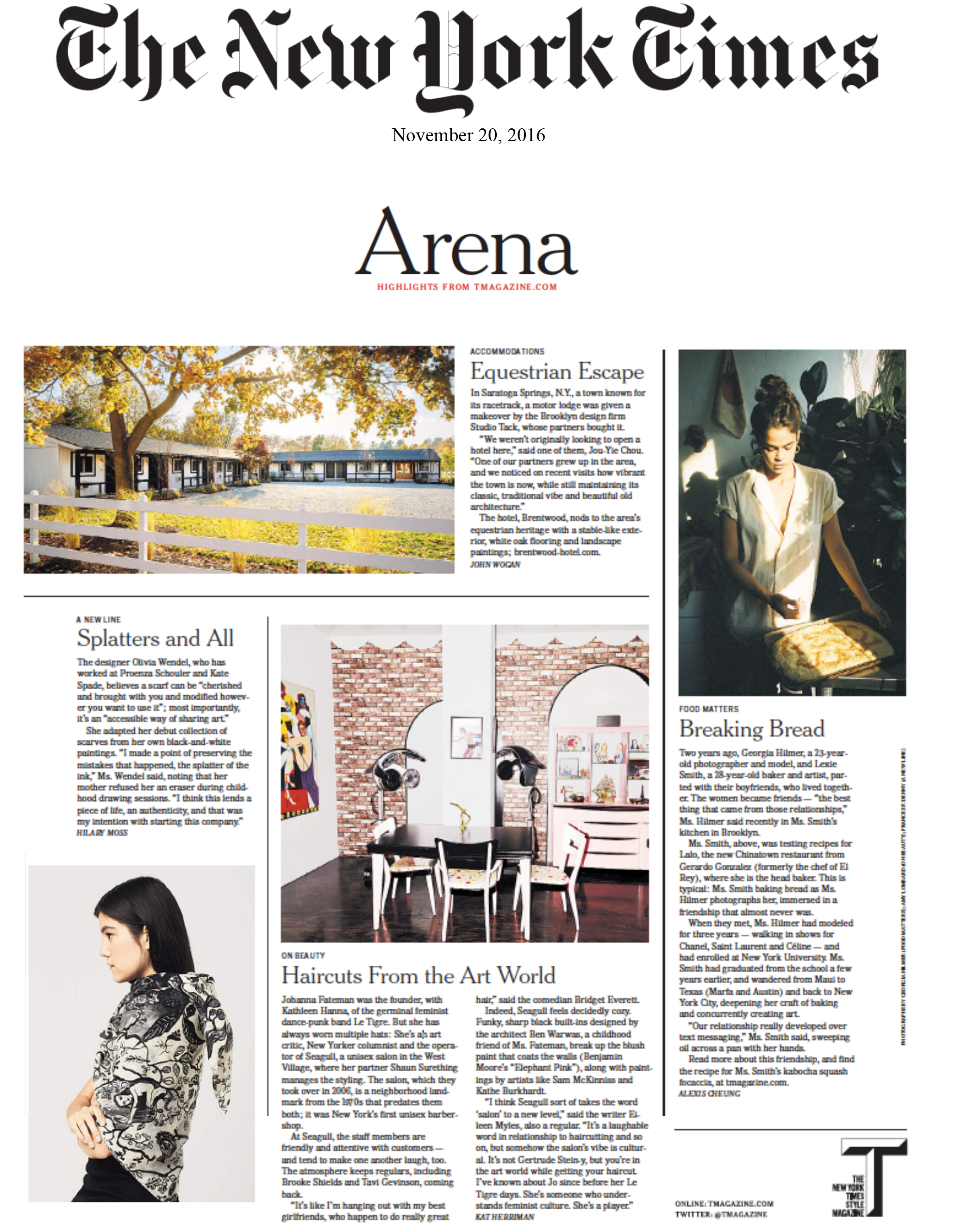 NY Times | The Brentwood