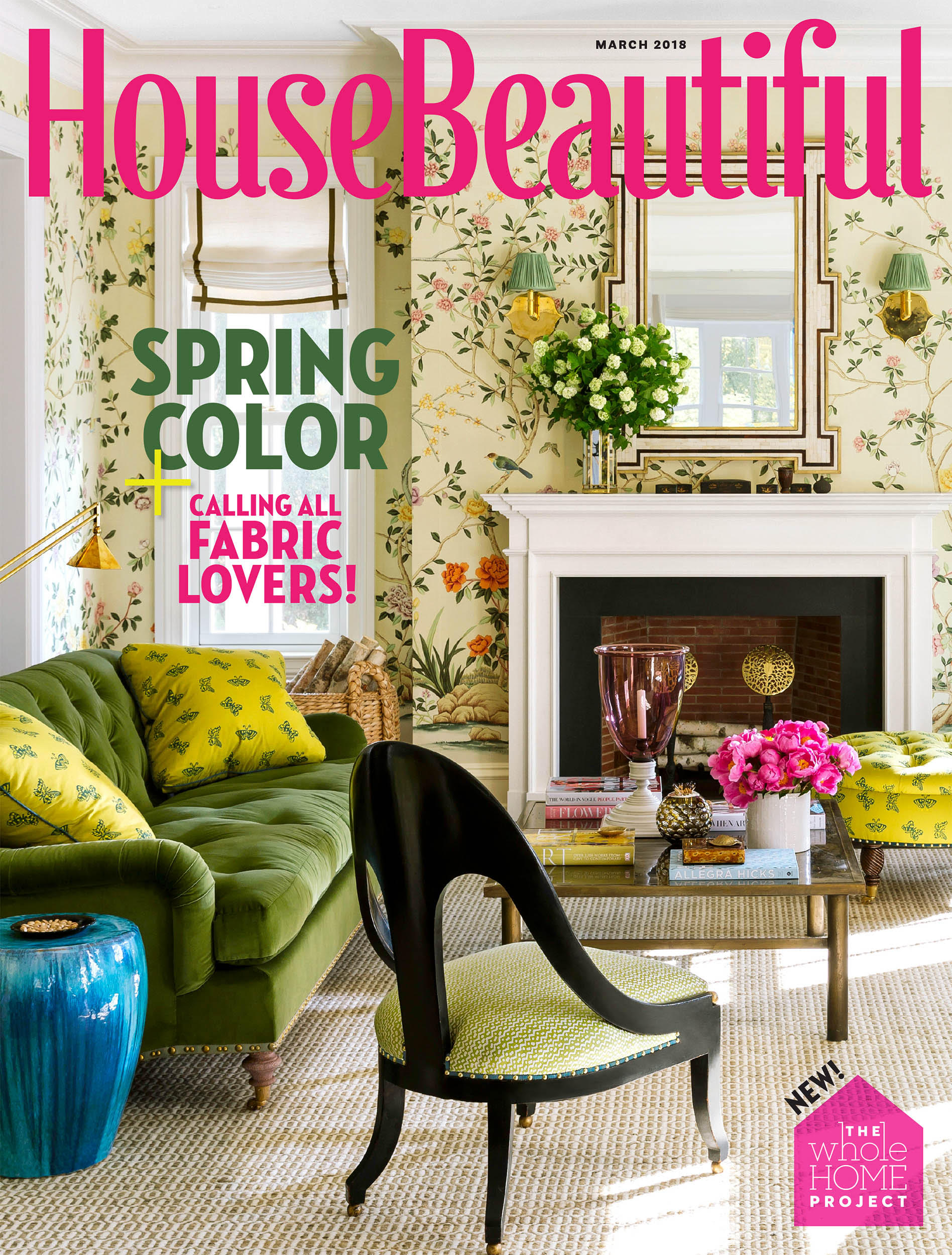 House Beautiful, Cover | Ashley Whittaker