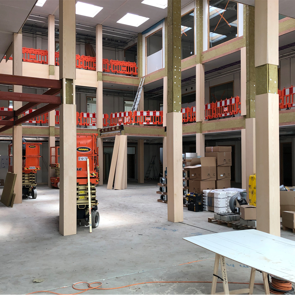 June 19, 2019    AICS2 school is about to be completed!