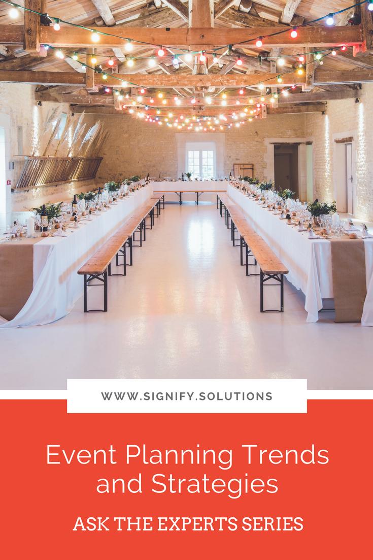 Event planning for nonprofits and social enterprises
