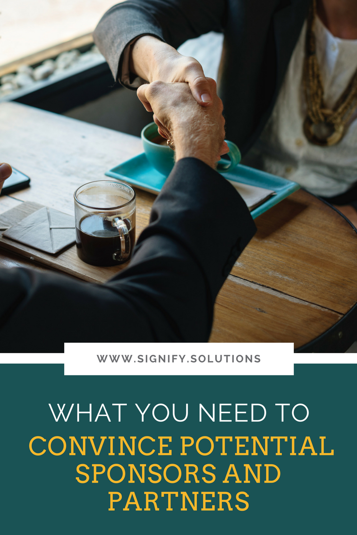 The great news is that now is the best time for soliciting new partners and sponsors. The bad news is that you may be doing it wrong.
