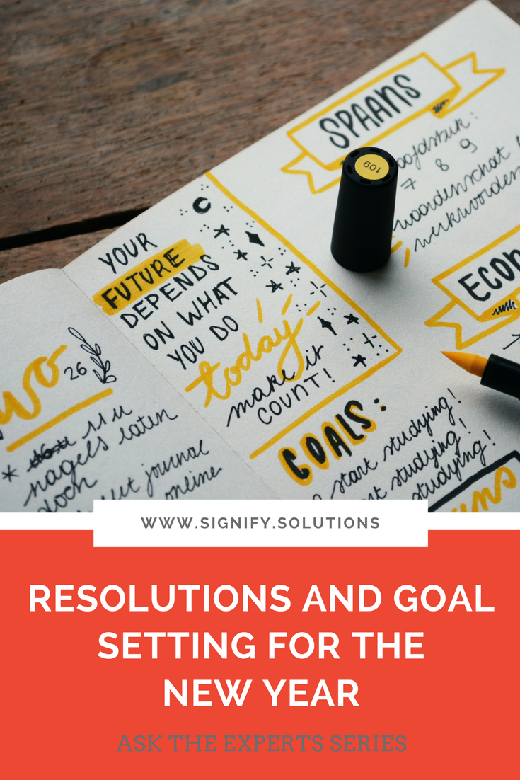 Let's talk about how you can realistically set and accomplish your goals this year.