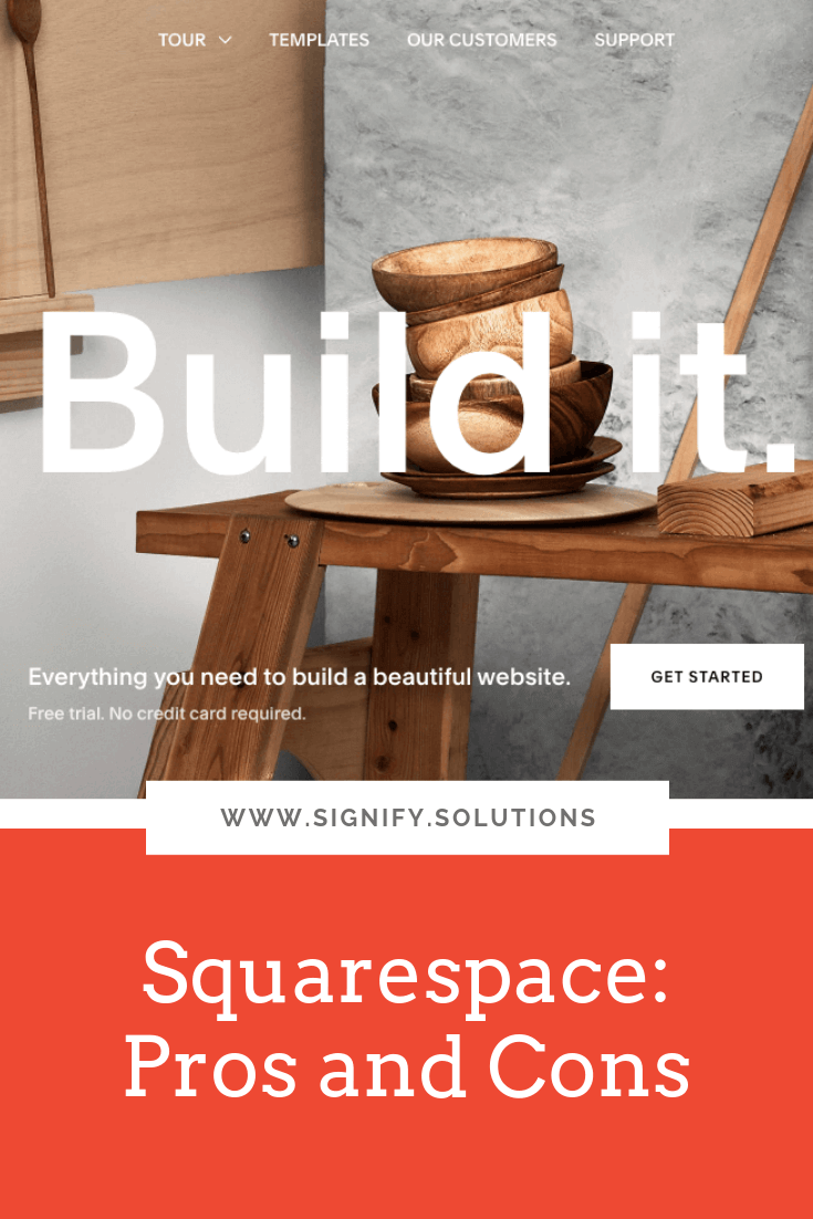 No platform is perfect, but here's one website designer's review of the pros and cons of Squarespace.