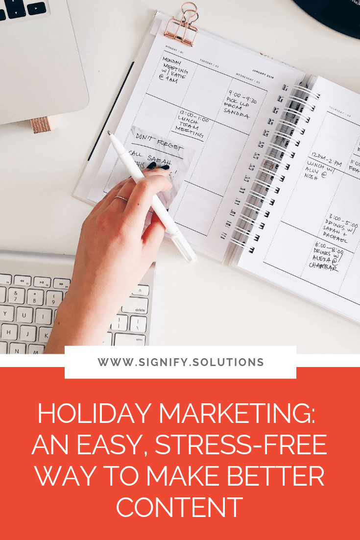 Nonprofits and social enterprises sometimes find it hard to create posts online. Holiday marketing can be the solution that allows you to be more active online.