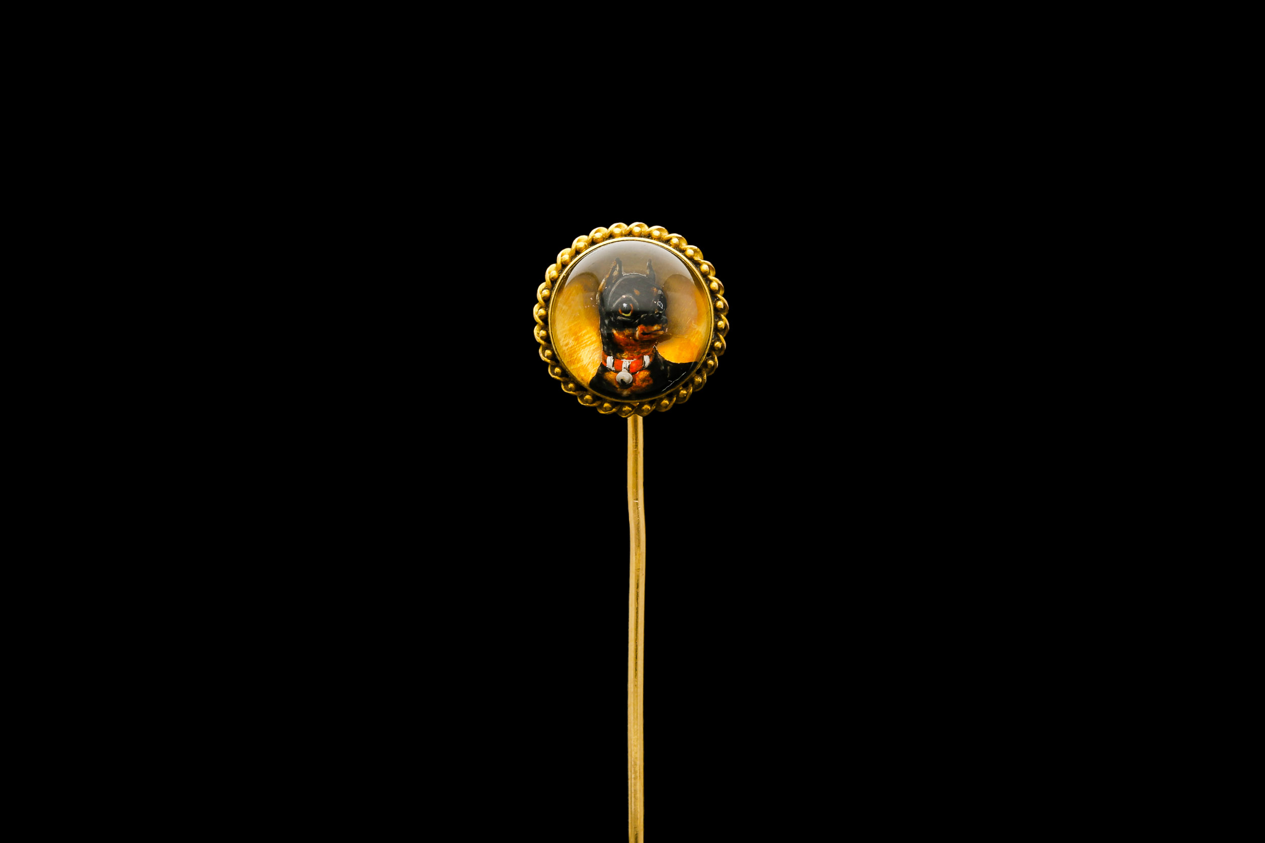 A Victorian French Essex crystal stick pin | £1925