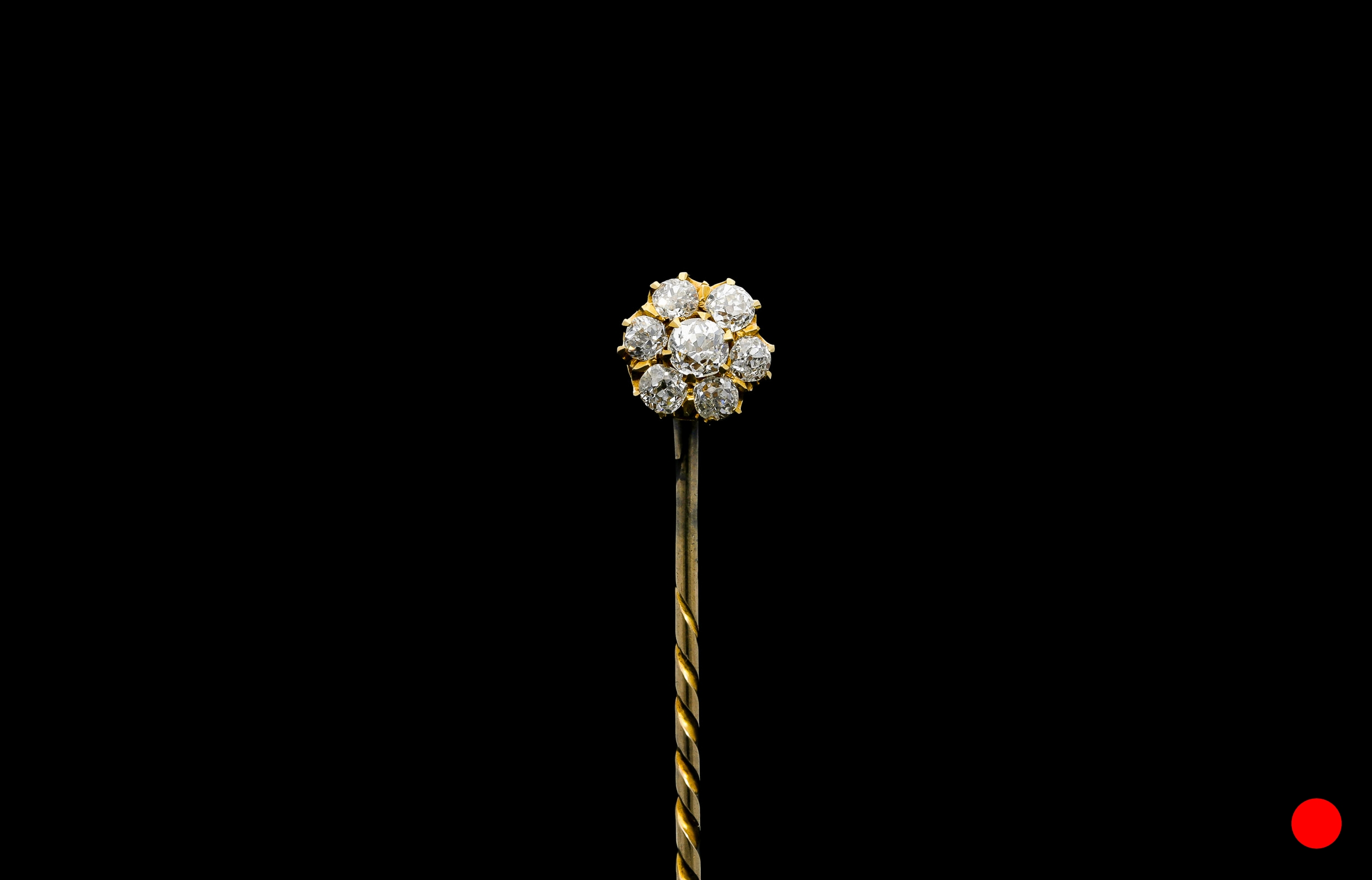 A Victorian Old European stick pin | £2750