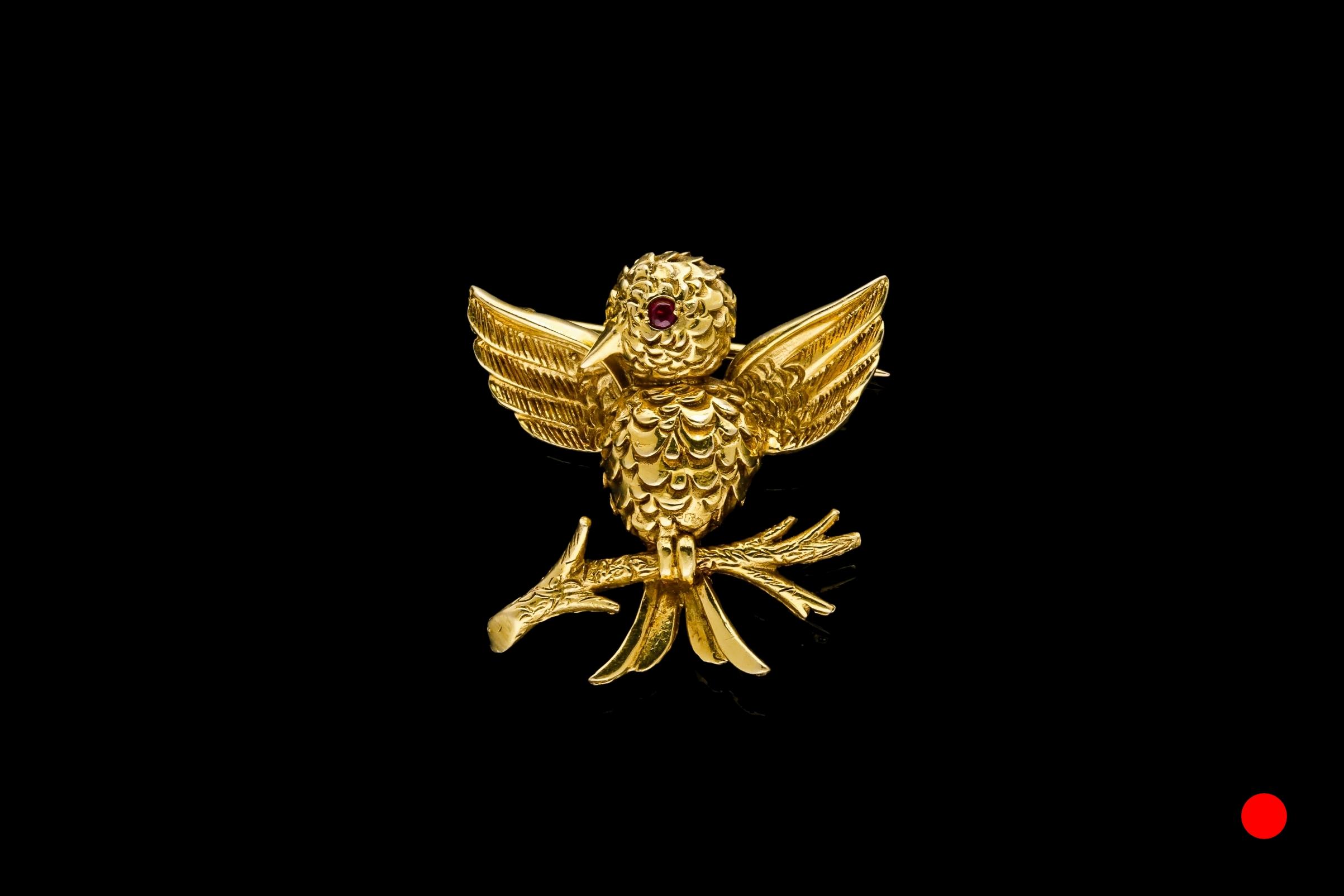A Boucheron Paris bird brooch | £3640