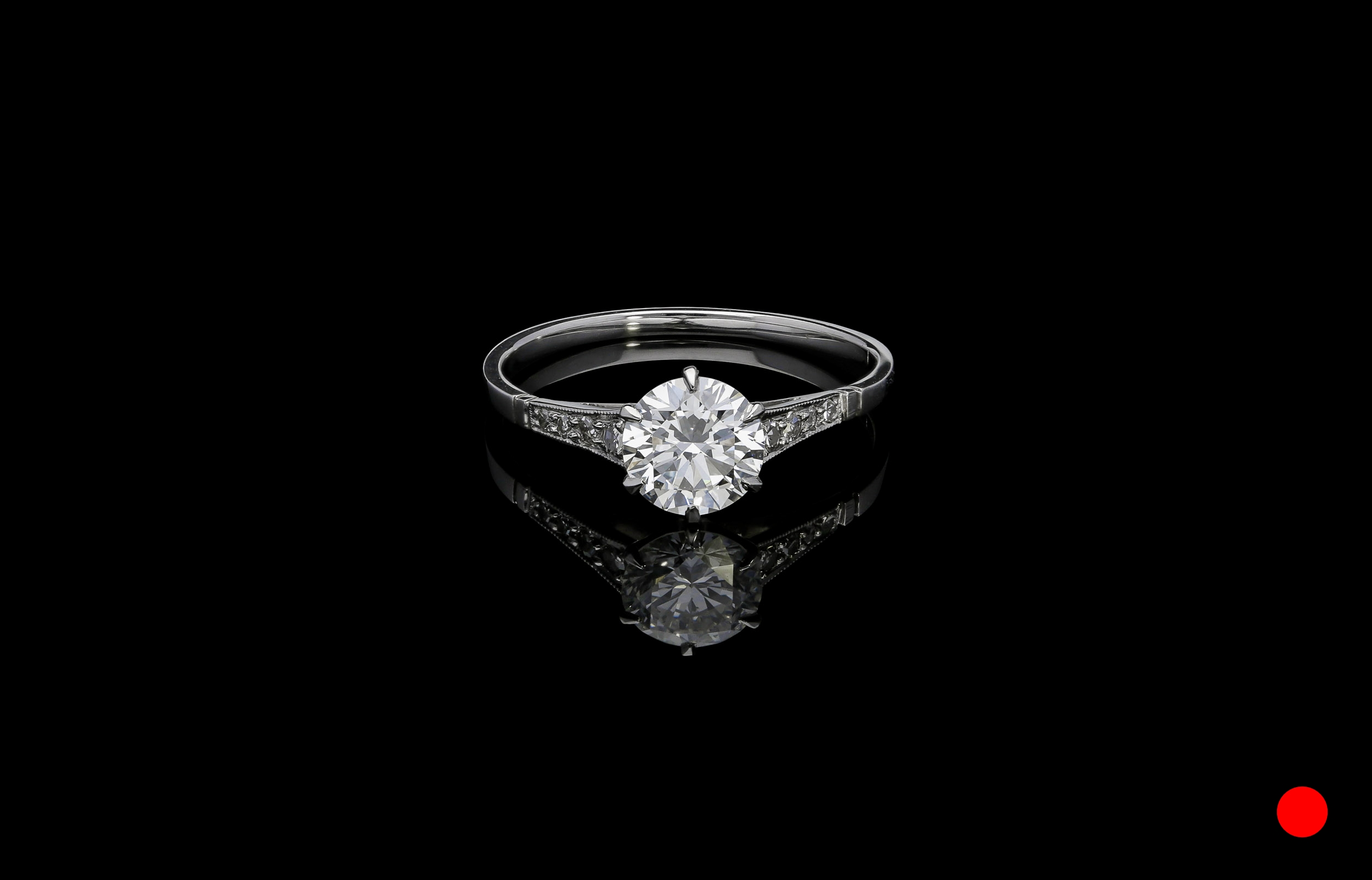 A 1950's brilliant engagement ring | £6350