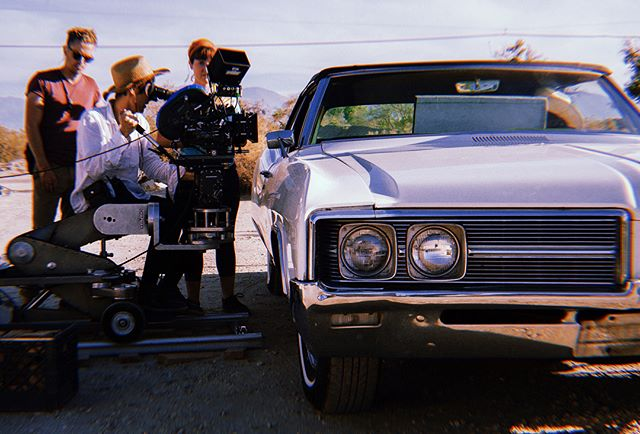 Behind the scenes of our shoot with director @nadialeelee #OvHSS19 📸: @brandon.bowen