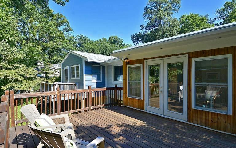Deck & kitchen addition