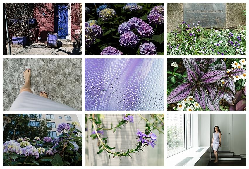 Denise Laurinaitis Grace Project Color Challenge July Purple