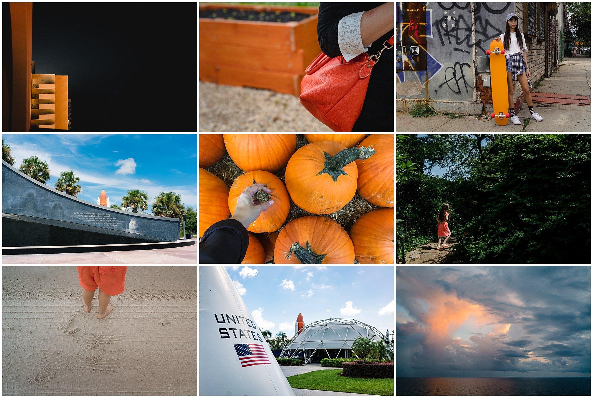 Denise Laurinaitis Grace Project Color Challenge October Orange