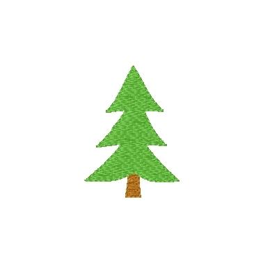 Christmas Tree (plain)