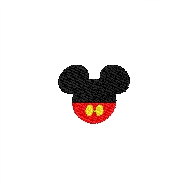 Mickey Head with Pants