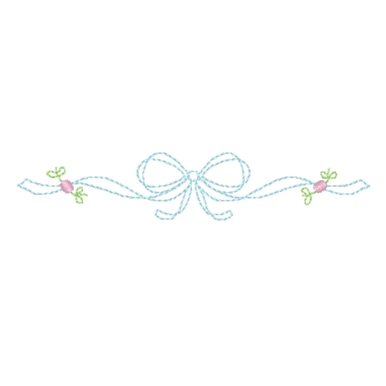 Heirloom Floral Bow
