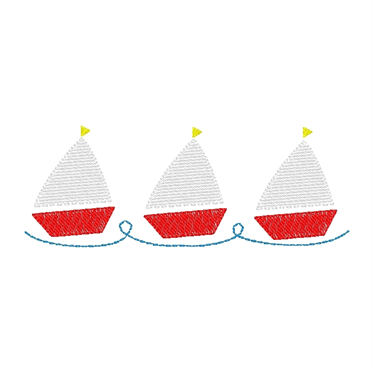 Sailboats (filled)