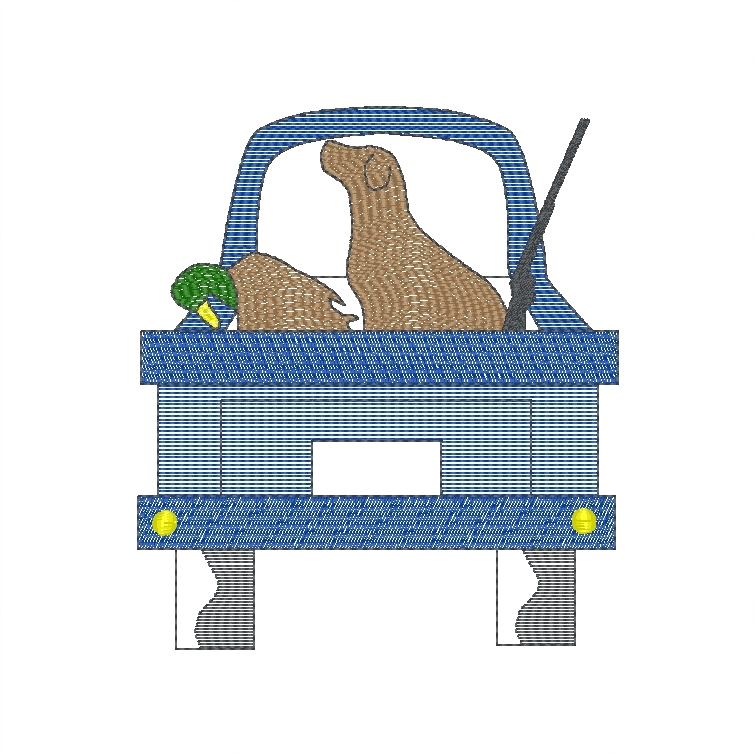 Deer in Truck (duck)