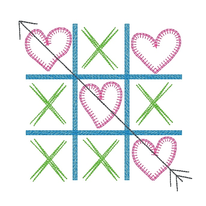 Tic Tac Toe (Girl)