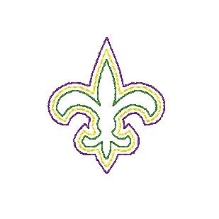 Fleur-de-lis (quick stitch)