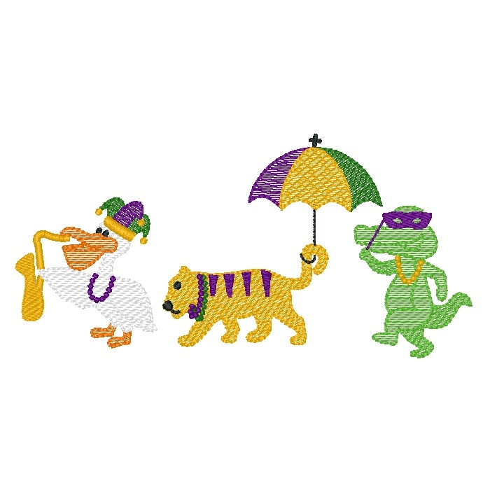 Mardi Gras Animal Parade