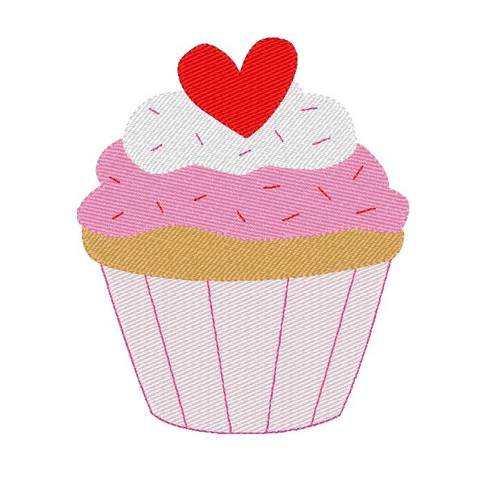5x7 Valentine Heart Cupcake Vintage Embroidery Design.jpg
