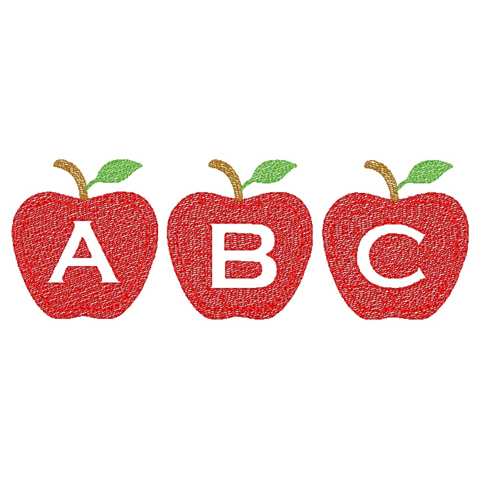Apple Trio ABC's