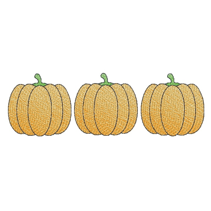 Pumpkin Trio (filled)