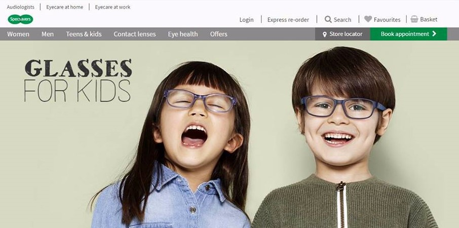 Loki Corazza in Specsavers Campaign