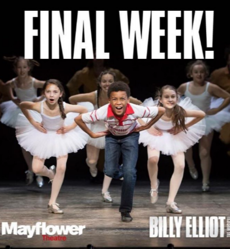 Pacha Green in 'Billy Elliot' UK Tour