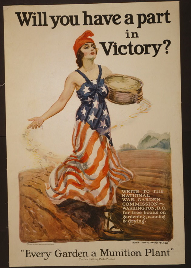 1918 poster by James Montgomery Flagg