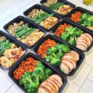 Meal prepping is part of what I do regularly (before and after my Whole 30 experience).