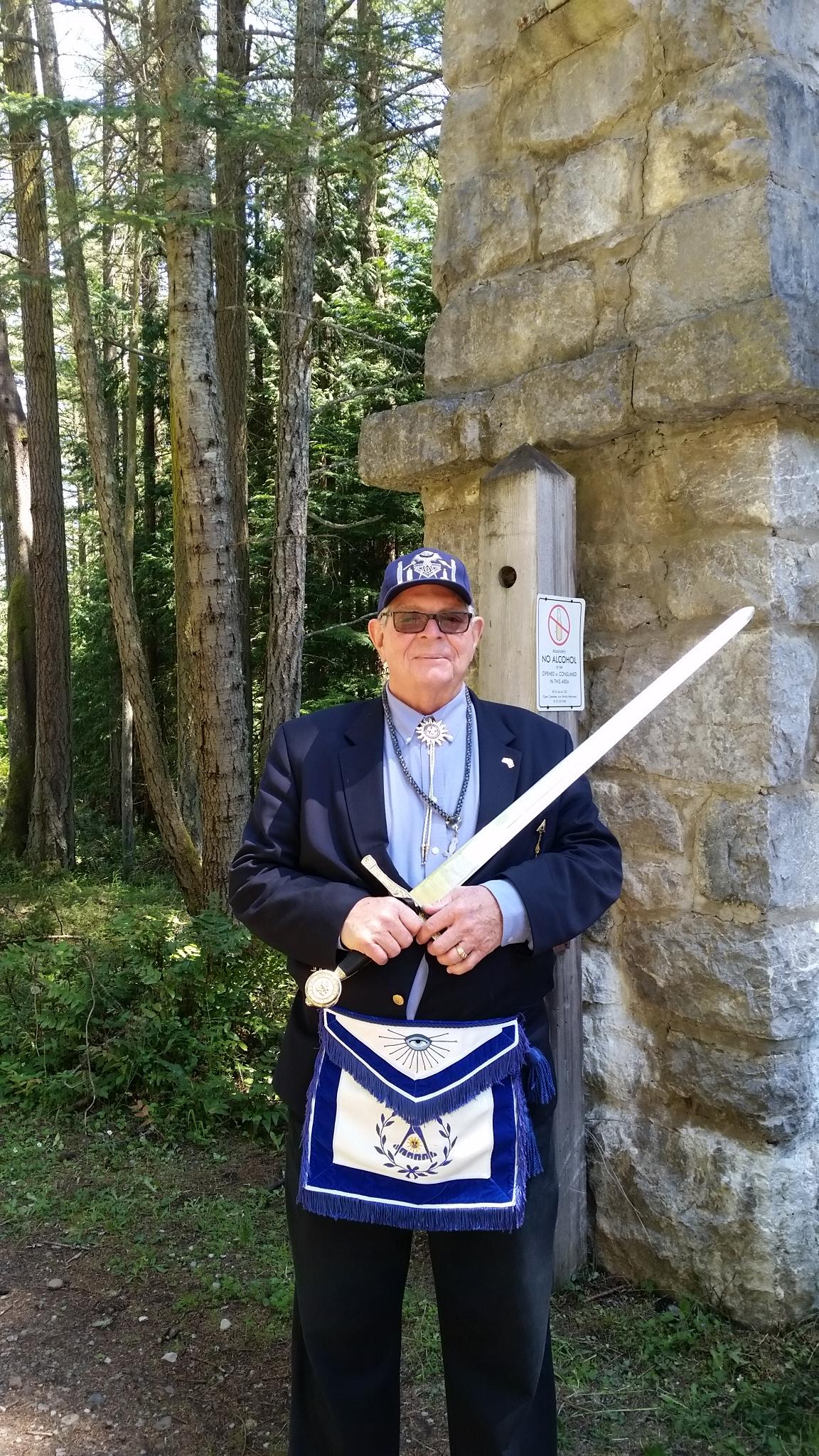 The Sentinel at the Gate (WB Skipp Metzger-Lodge Secretary 2018)