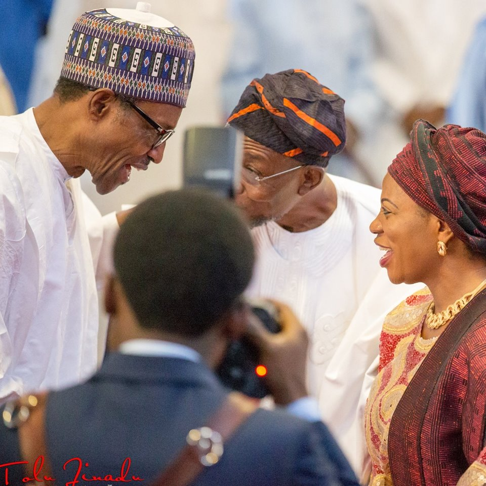 At Work - President Muhammadu Buhari