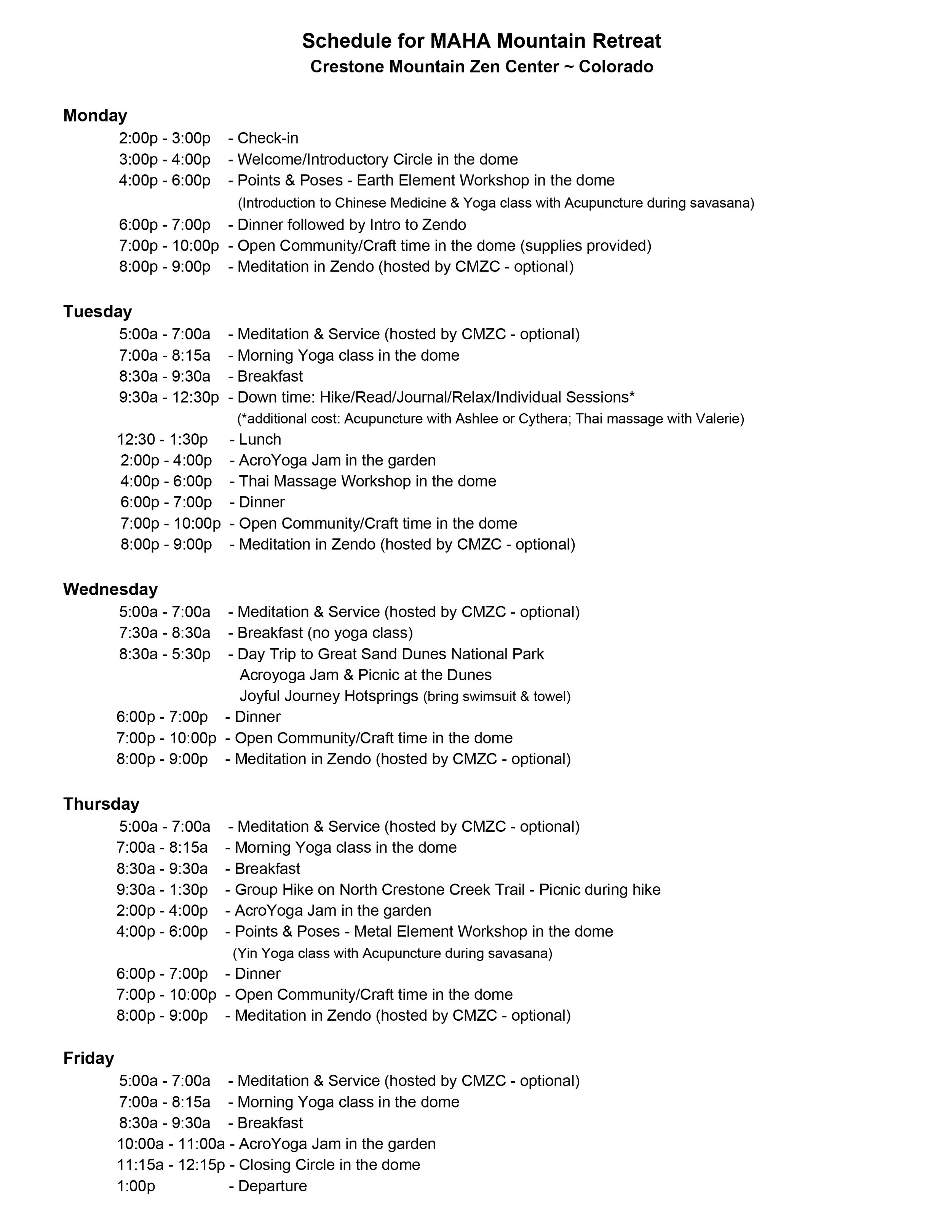 Schedule for MAHA Mountain Retreat.jpg