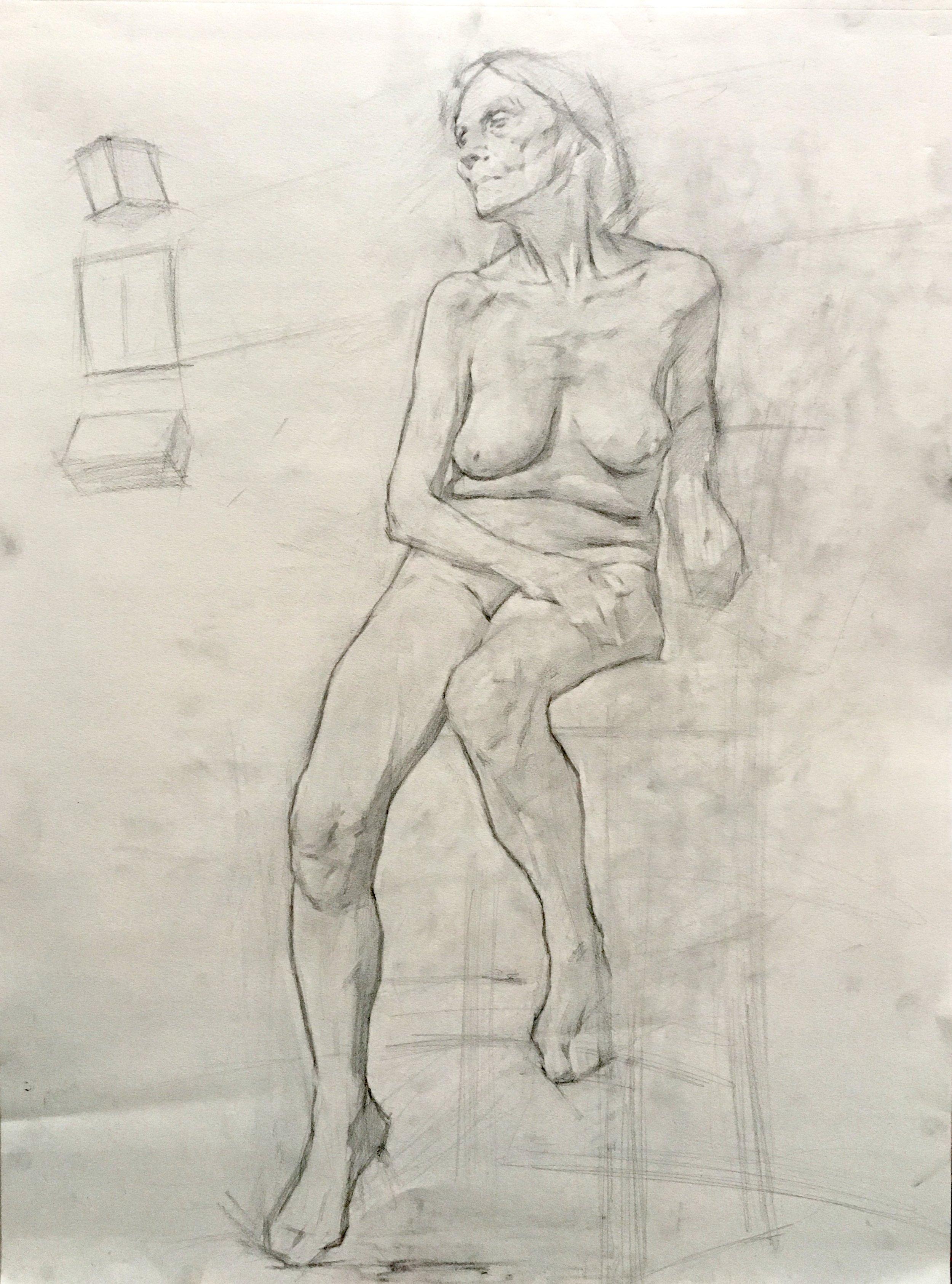 Figure study Block-in