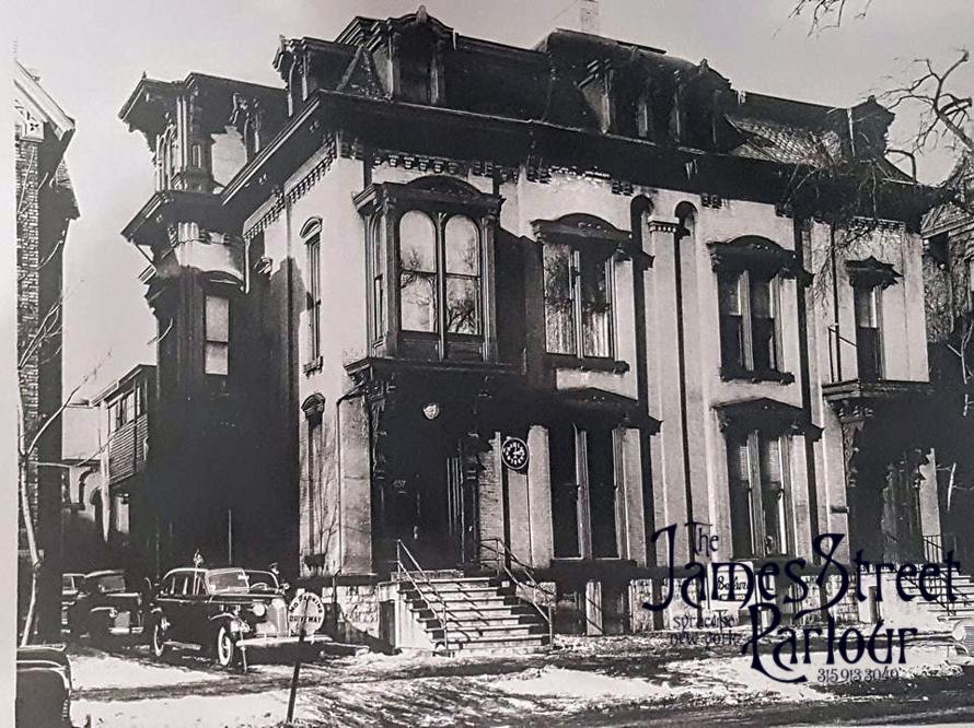The Ballweg Funeral Home circa 1940