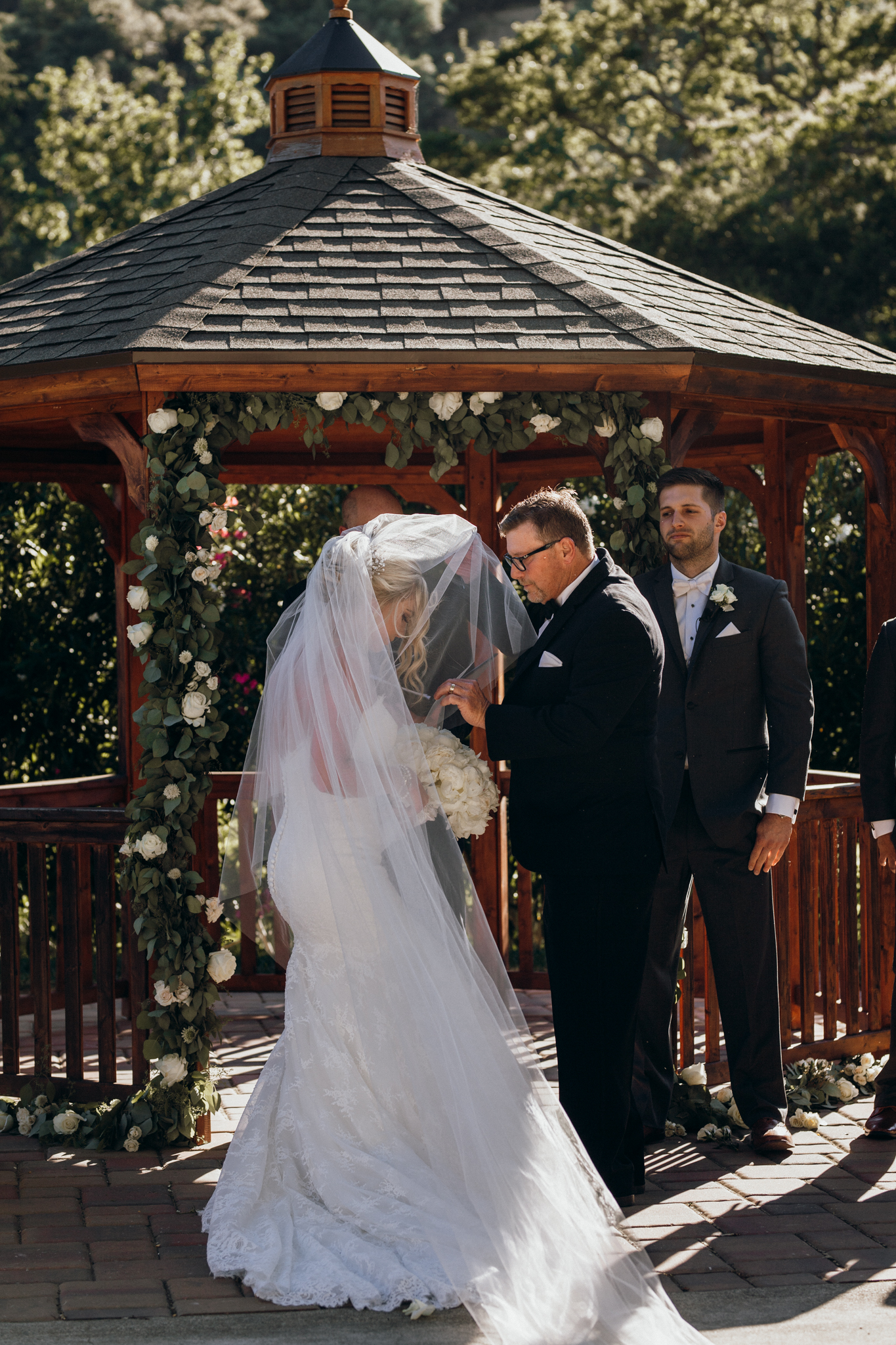 Bride and father Elliston Vineyard Sunol Wedding.jpg
