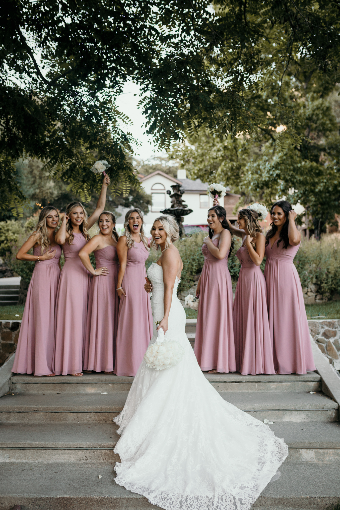 Bridesmaids Elliston Vineyard Sunol
