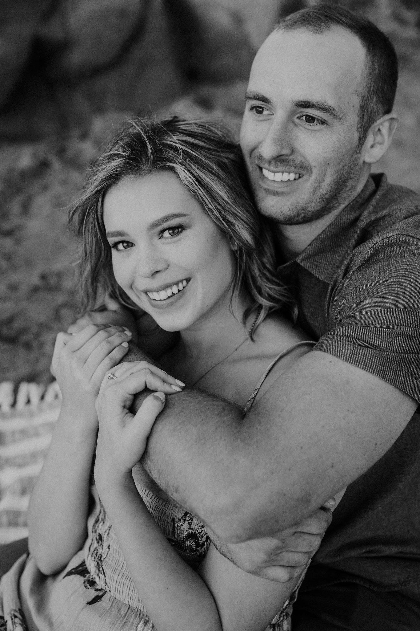 Baker Beach Engagement Shoot Couple