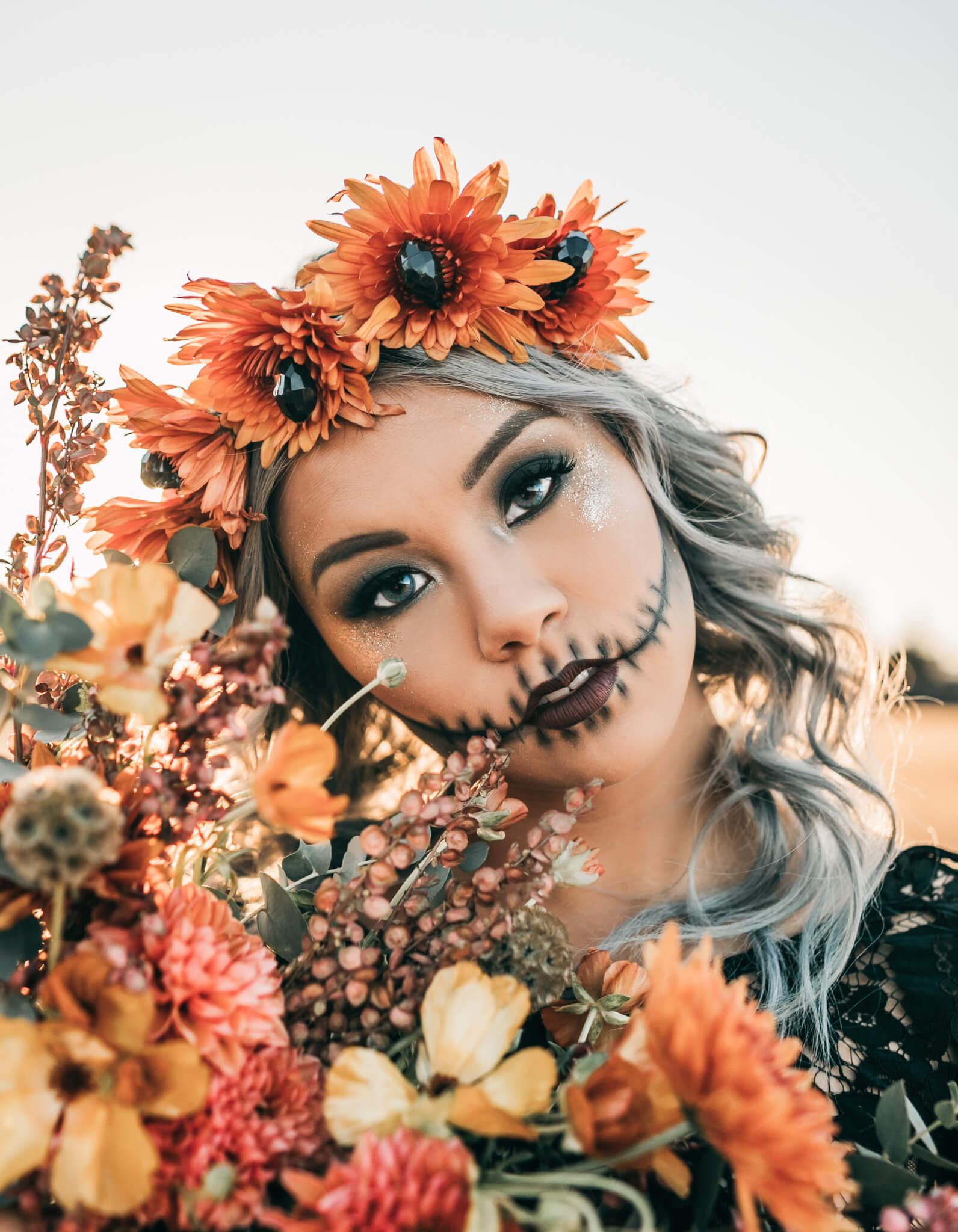 San Francisco Skull Halloween Shoot