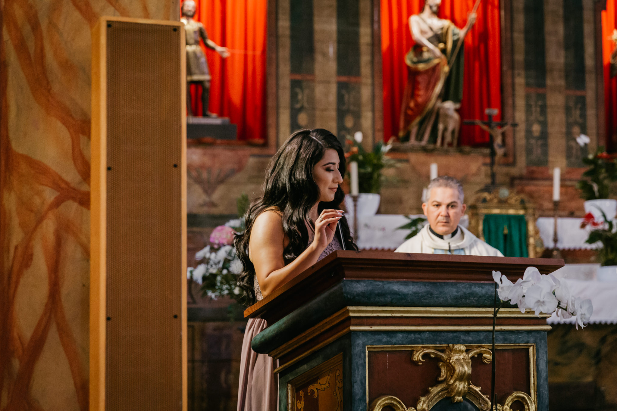 San Juan Bautista Church Wedding Reading
