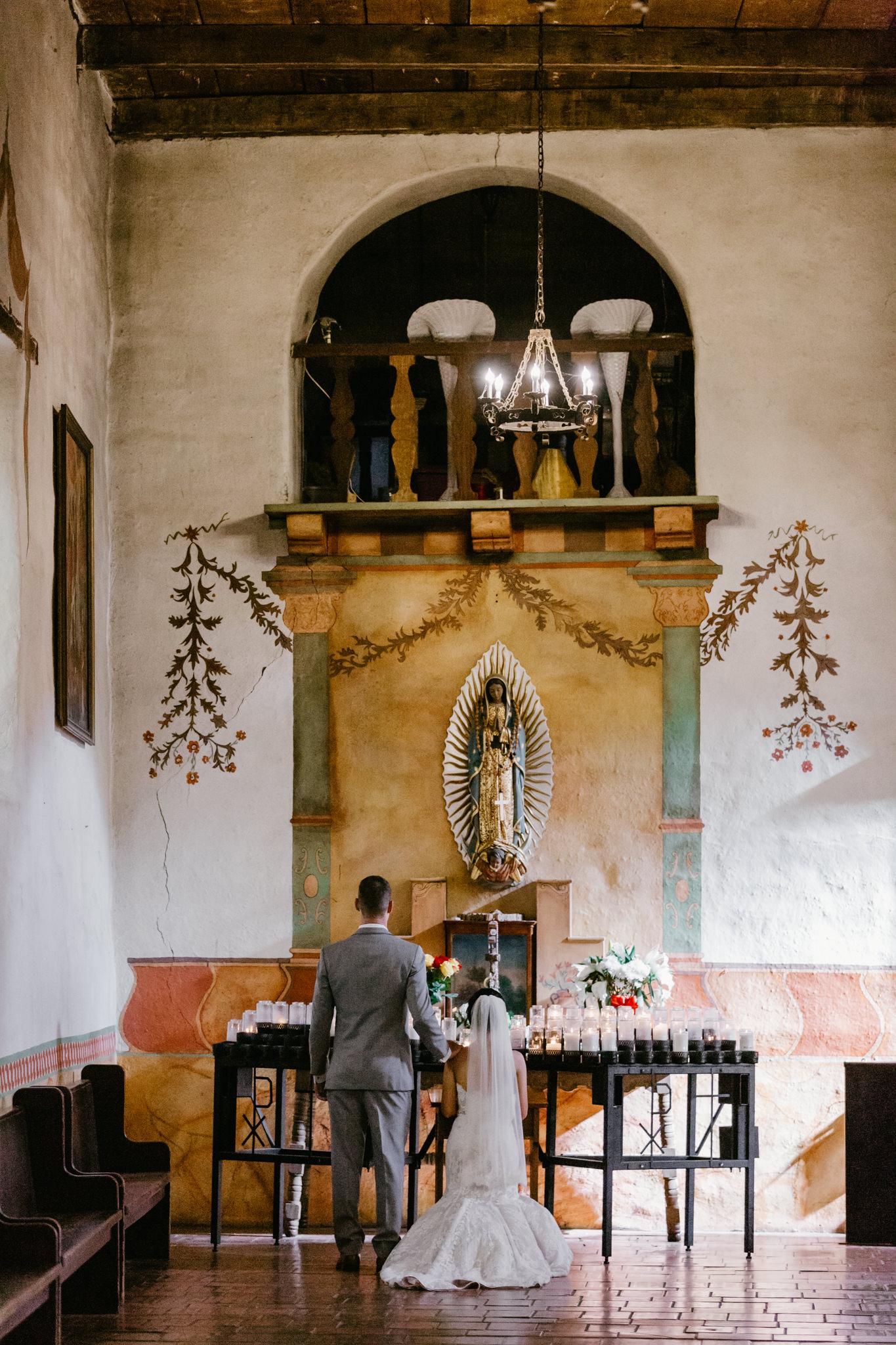 San Juan Bautista Church Wedding