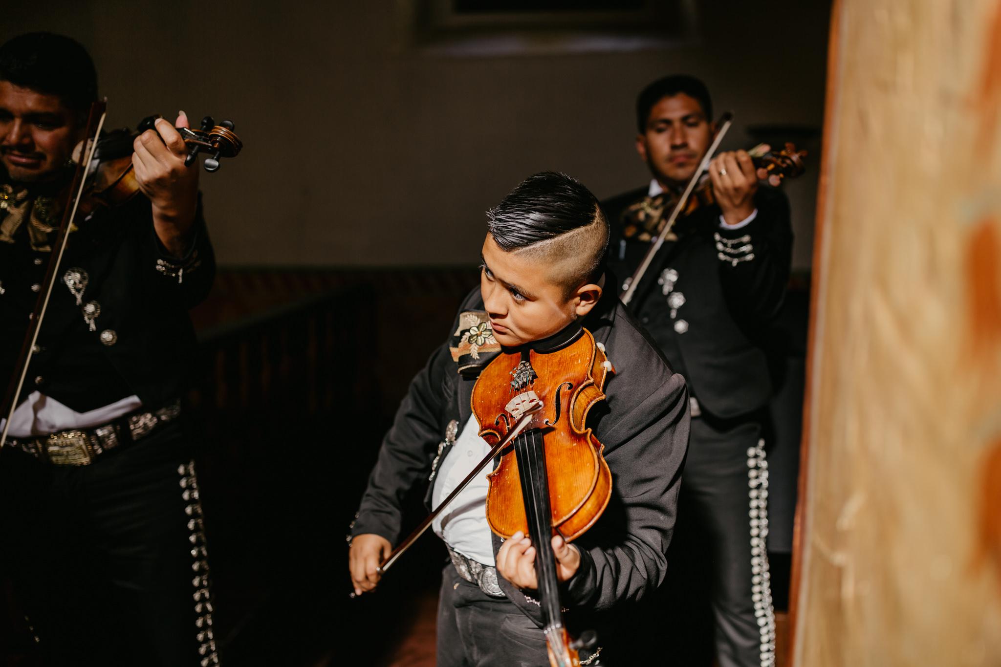 San Juan Bautista Church Wedding Mariachi boy