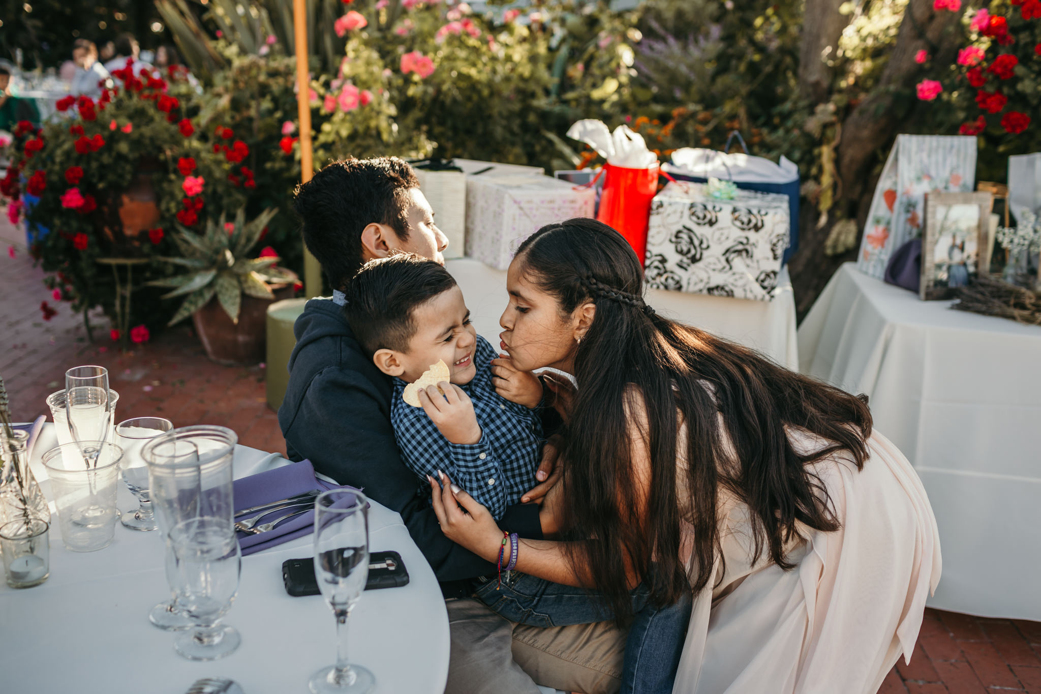 Jardines Wedding Reception Kids
