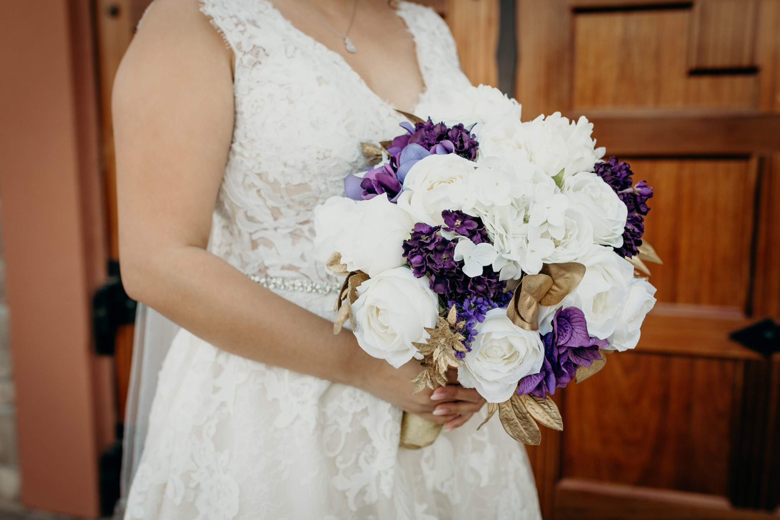Bride Flowers Real Ruby Hill