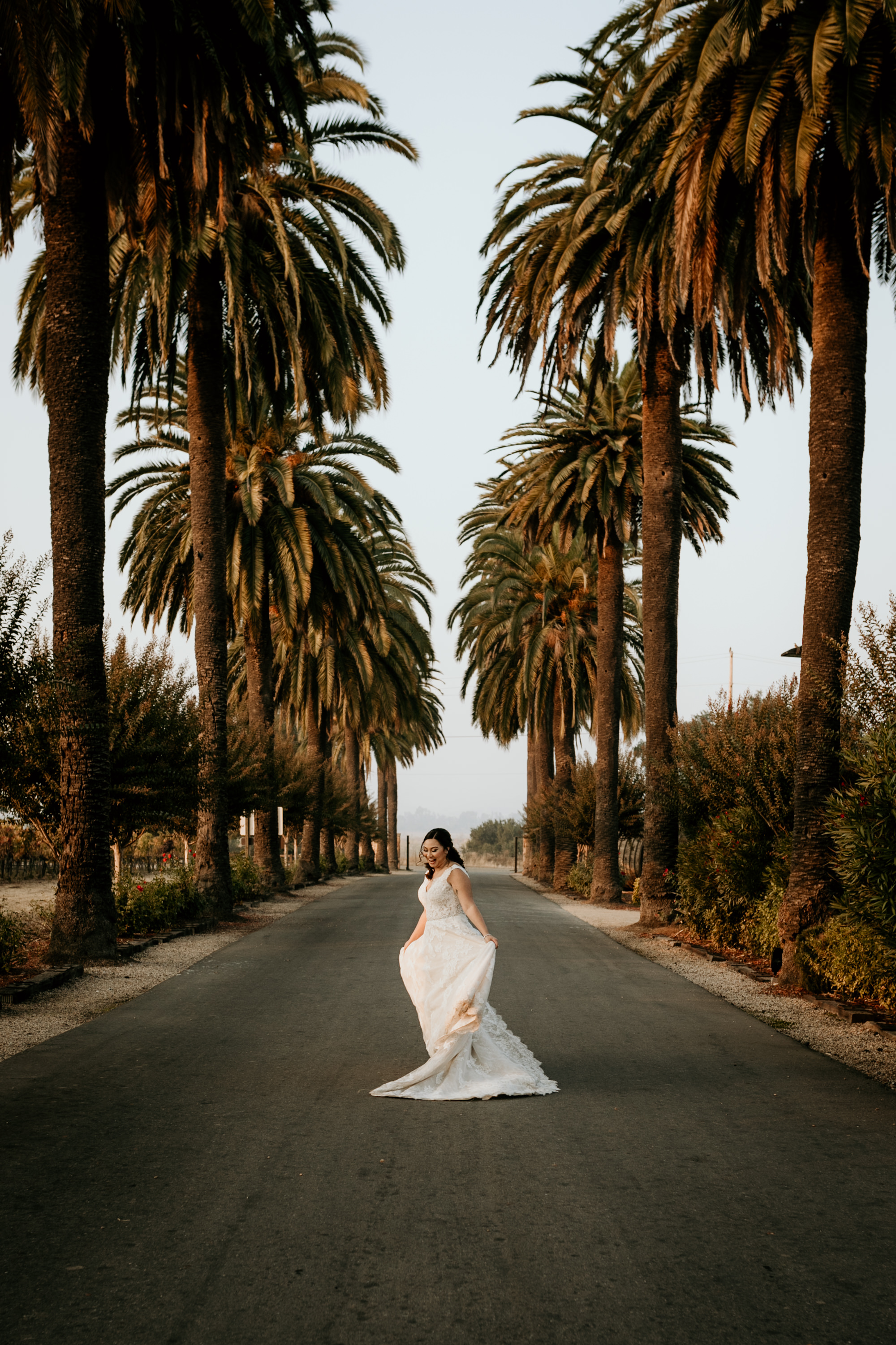 Bride Dancing at Palm Event Center Livermore