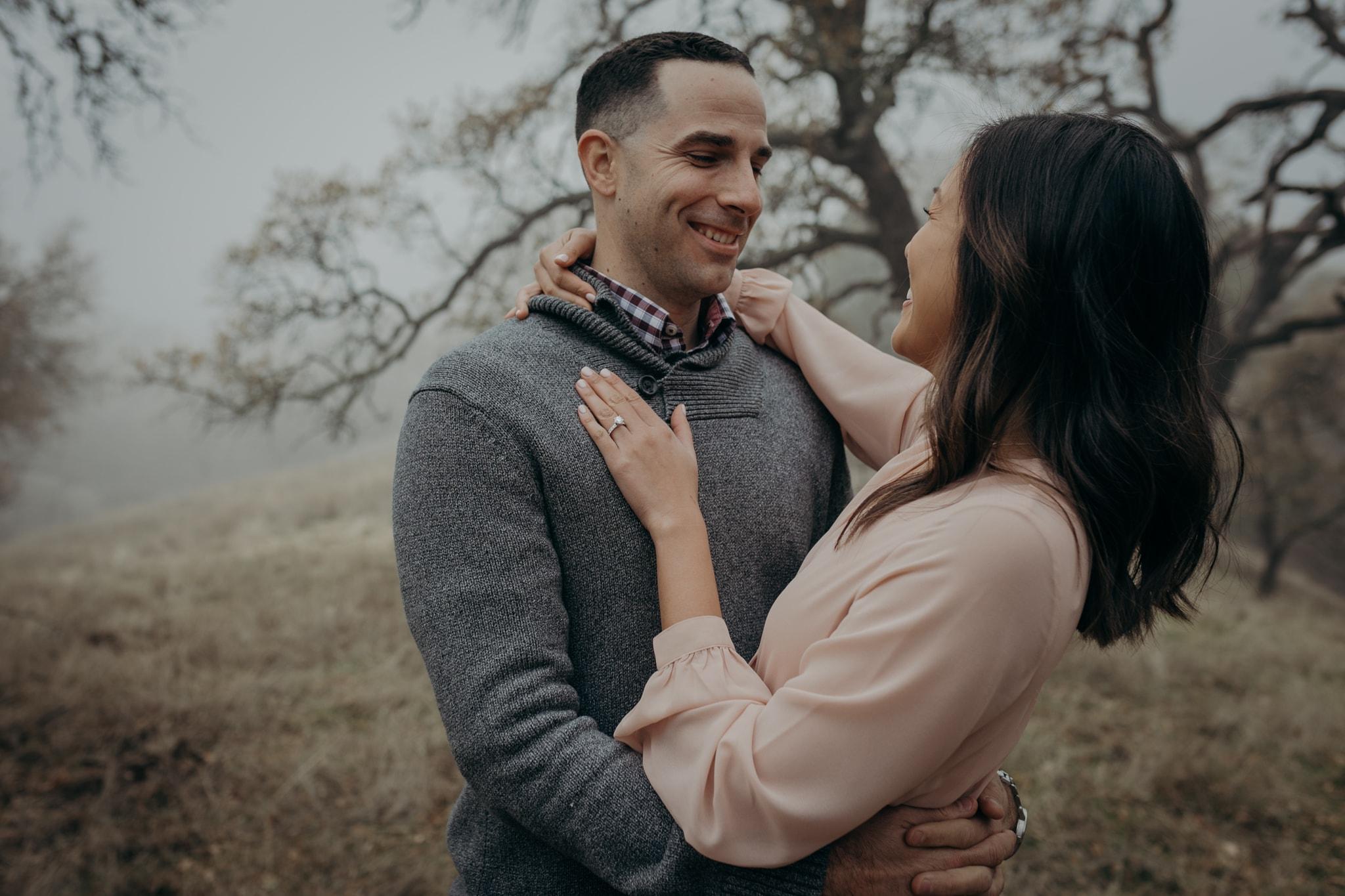 Walnut Creek Engagement Session Couple
