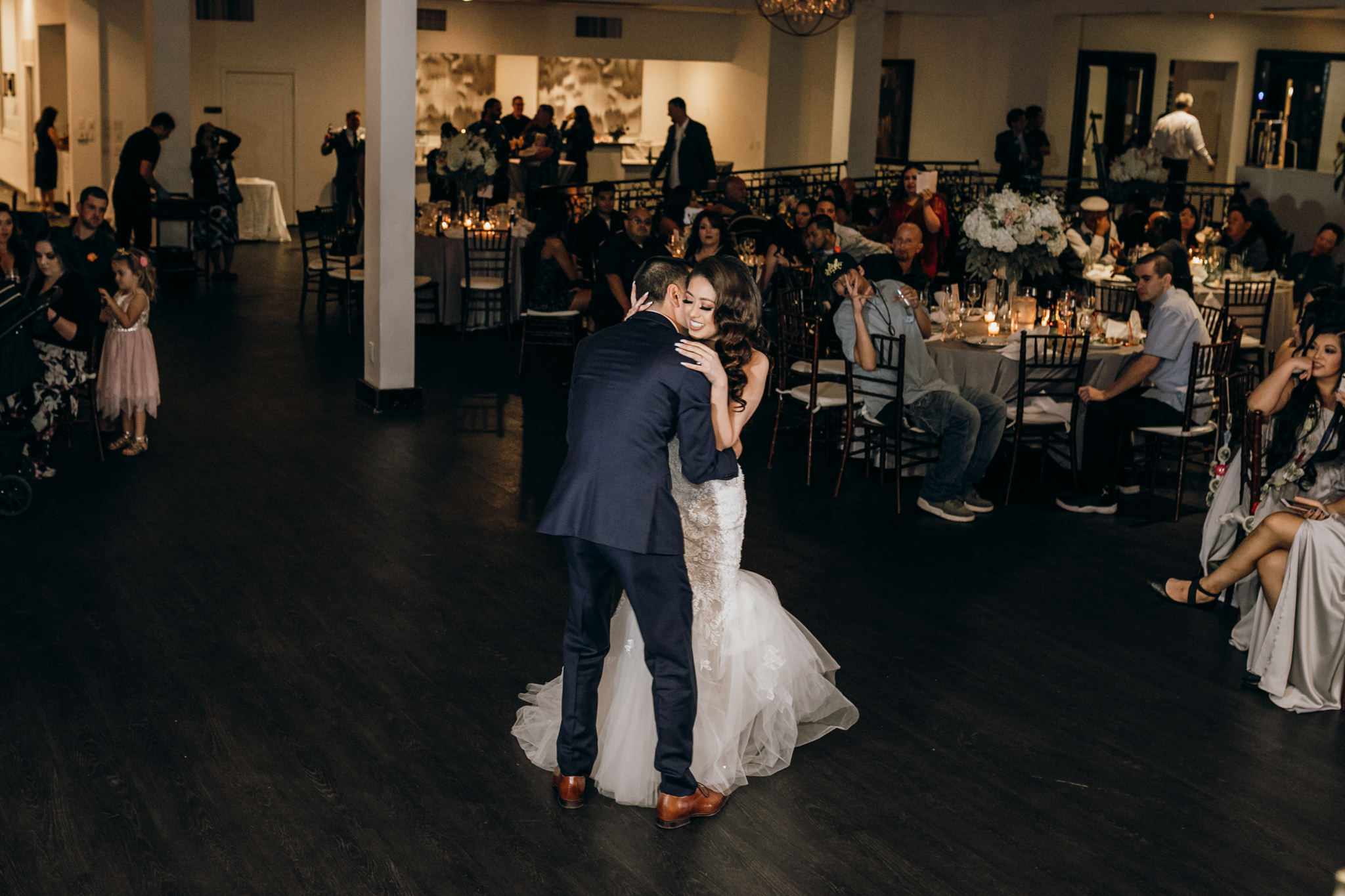 first dance canyon view